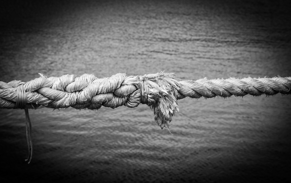 Cabo de una embarcación. © Charlie Peartree
