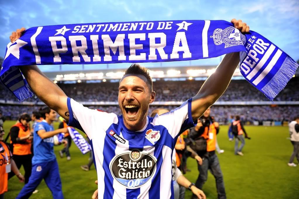 Xisco, que xogou nas categorías inferiores, celebra o ascenso na 2011-12 | © Forocoches