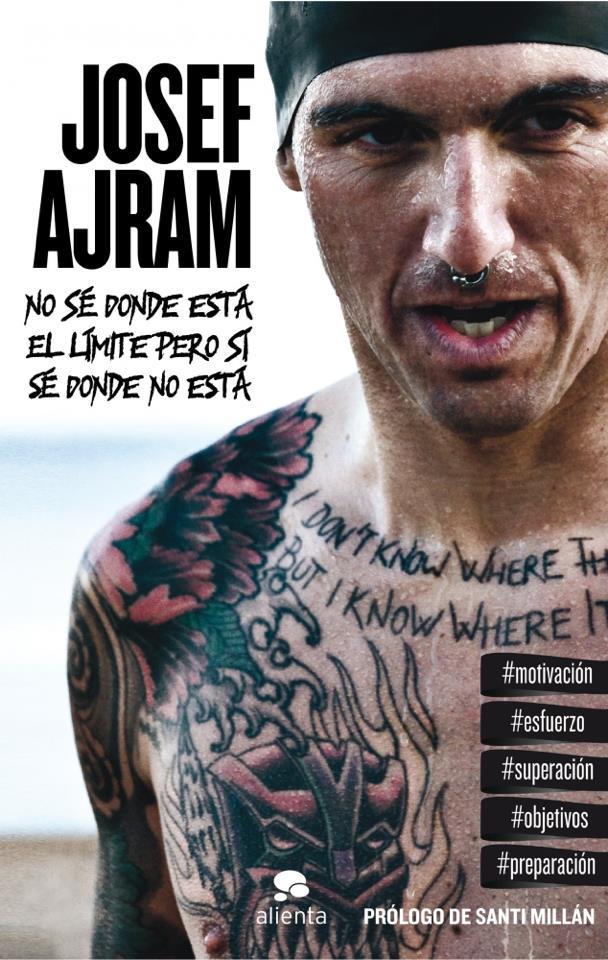 Portada del tercer libro de Josef Ajram | Fuente: josefajram.es
