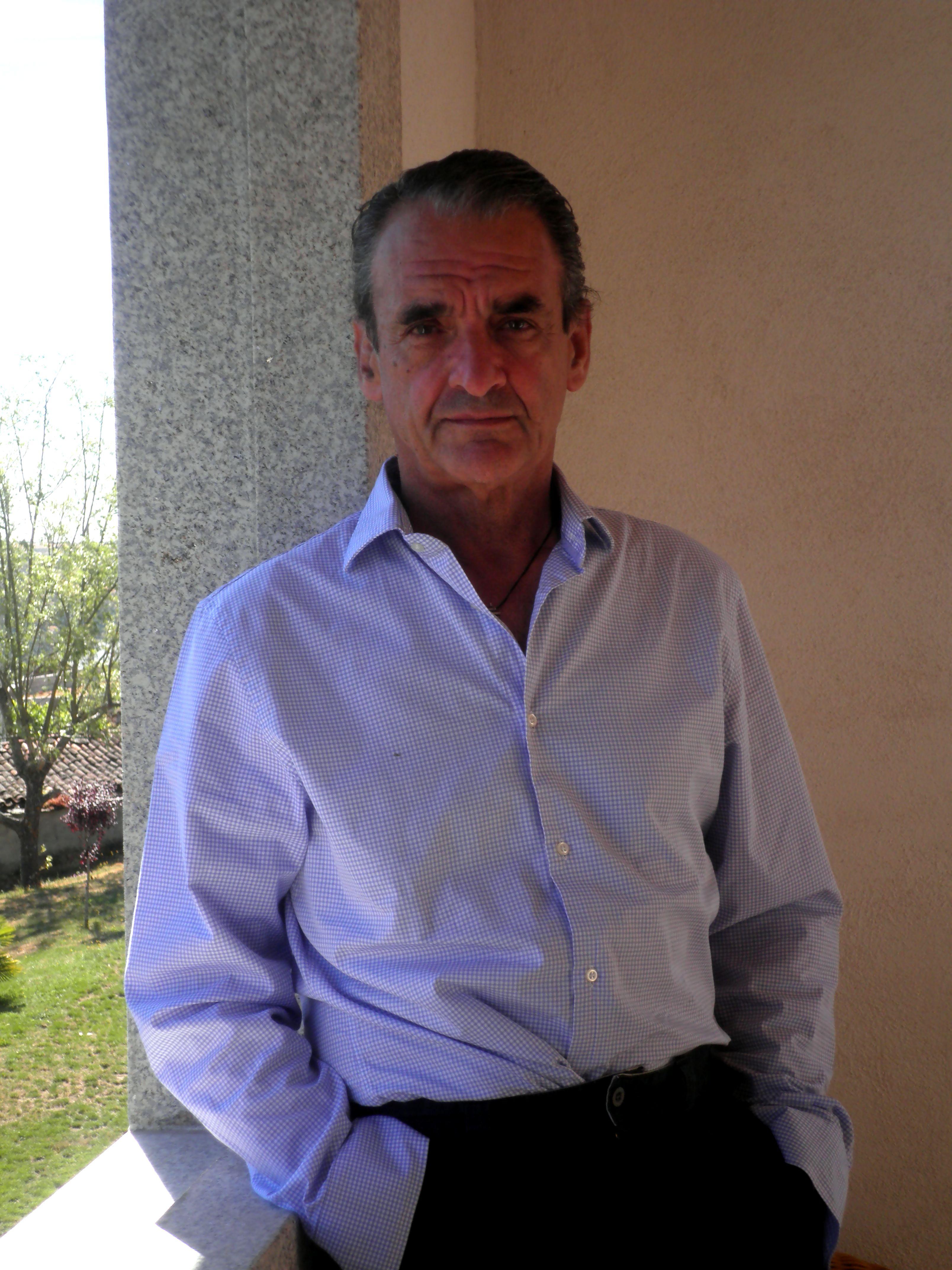 Mario Conde na Casa Grande da Cerca (Chauazoso) | Foto: Iván Olmos