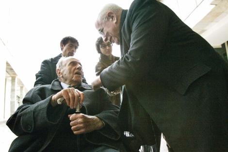 Peter Eisenman con Manuel Fraga | Foto: Rosa González