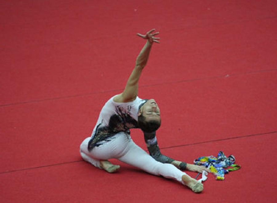 Rubén Orihuela, quien encabeza la lista española de gimnastas federados | ©El País