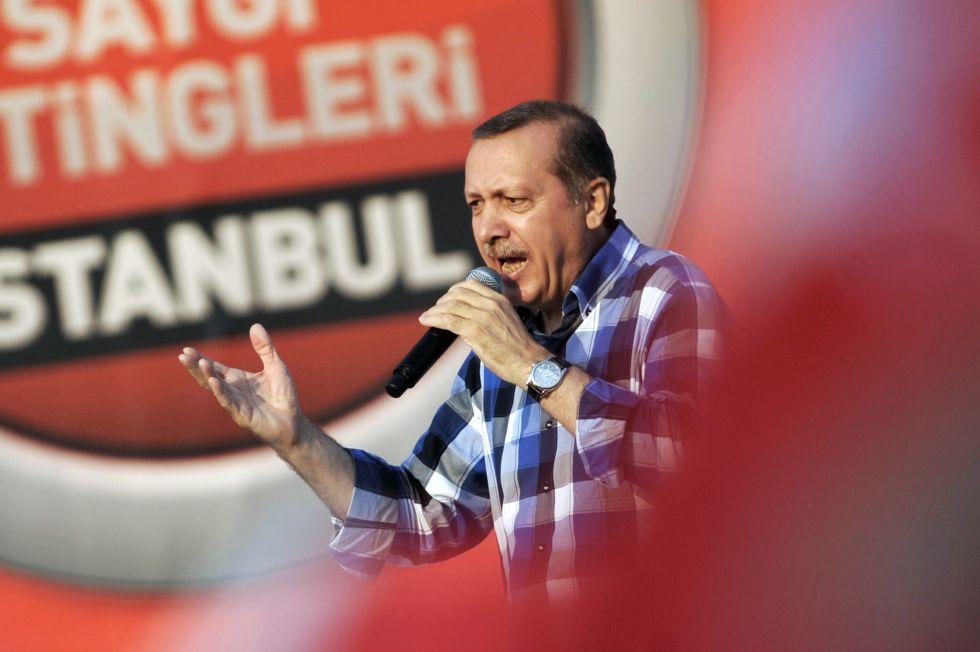 mitin de erdogan a las afueras de estambul - el pais
