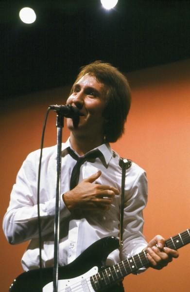 Doug Fieger durante una actuación en directo. / theknack.com