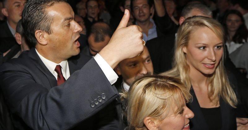 Laurent Lopez xunto a Marion Maréchal - Le Pen, atractiva herdeira do trono do FN