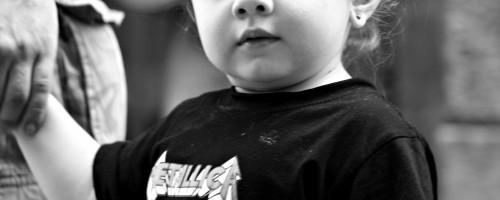 Papá, quero ver a Metallica
