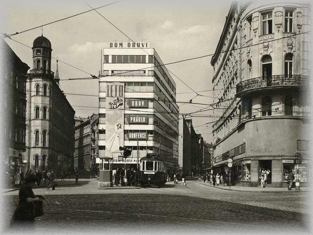 Malinovského Náměstí, Brno, anos 50