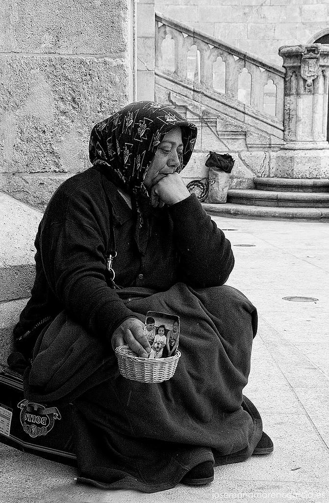 El umbral de la pobreza. Foto: José María Moreno García