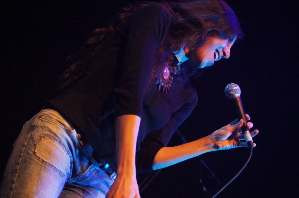 Najla na presentación do disco na Capitol | ©Ada Seoane Alló