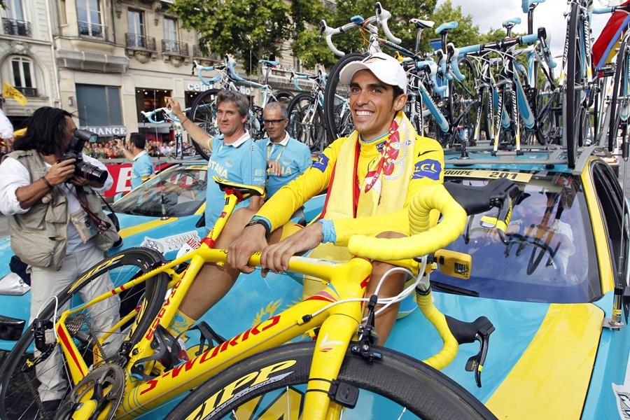 La sanción por dopaje ha perjudicado la trayectoria de Alberto Contador | Fuente: http://biciblog.com/