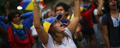 Venezuela, la fractura social de un país en la calle