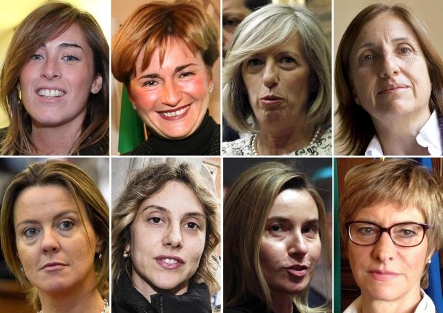 As mulleres do goberno Renzi / La Repubblica