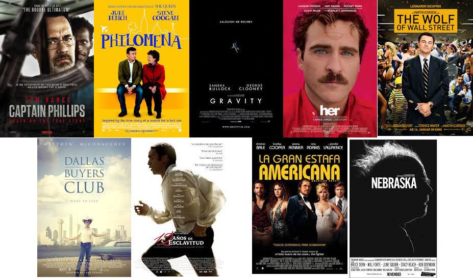 carteles Oscars