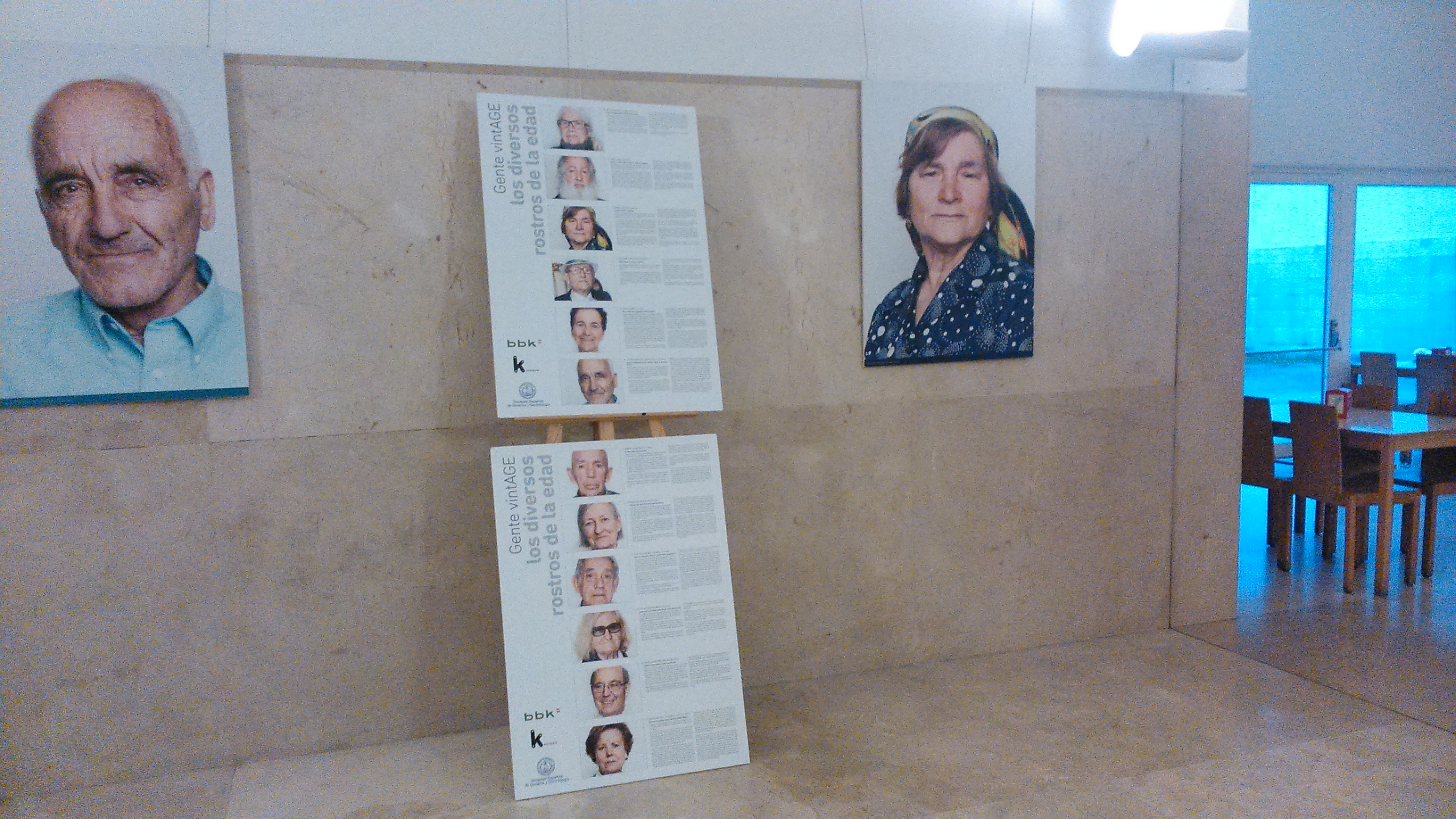 Exposición en la faculta de CC. Comunicación de Santiago de Compostela | Andrea Pérez