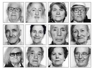 Los 12 rostros de gente VintAGE || Galería SEGG