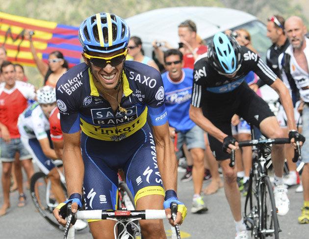 Contador e Froome, dous dos grandes favoritos para o Tour - ©El Periódico