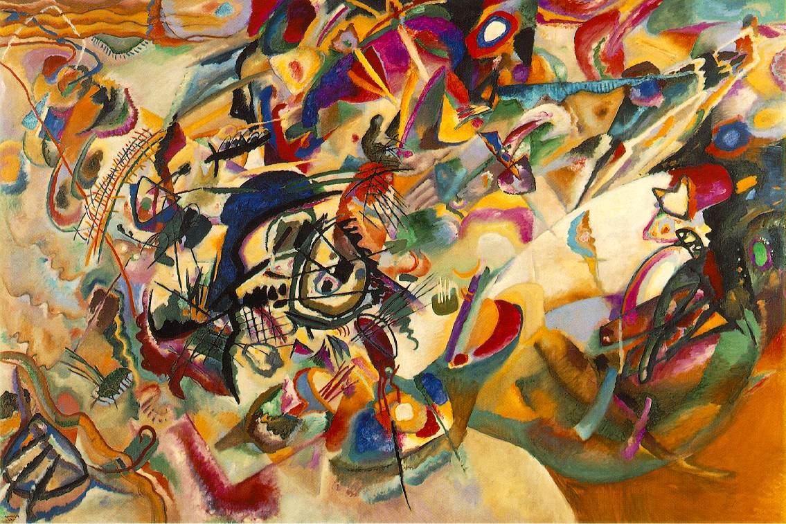 Wassily Kandinsky, Composición VII (1913) | ibiblio.org/