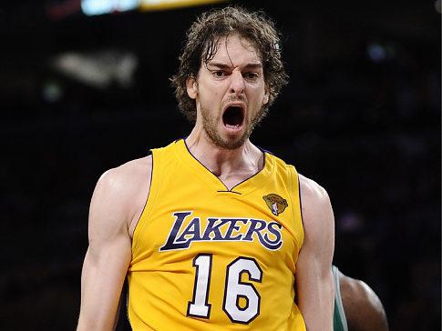 Pau, uno de los damnificados por el tanking de Lakers esta temporada | Fuente: borntodiscovery.es