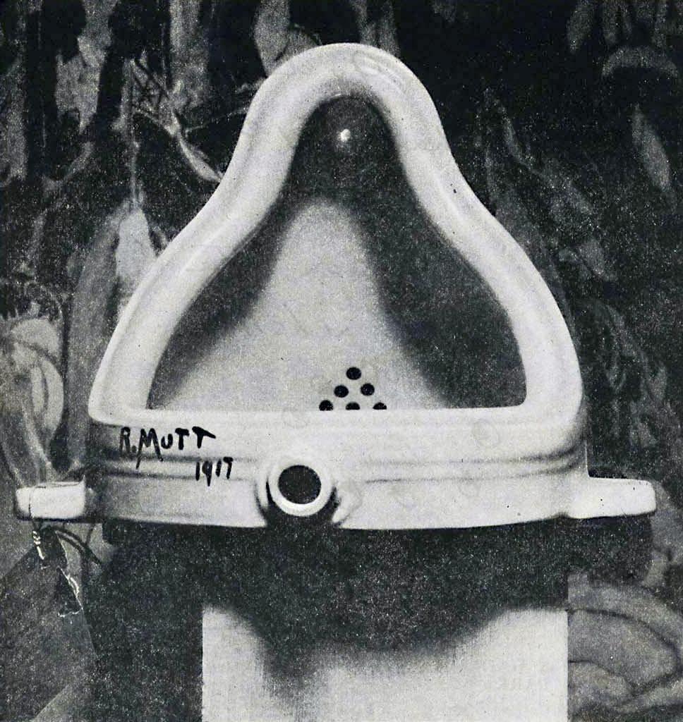 Marcel Duchamp, Fountain (1917)   wikipedia.org
