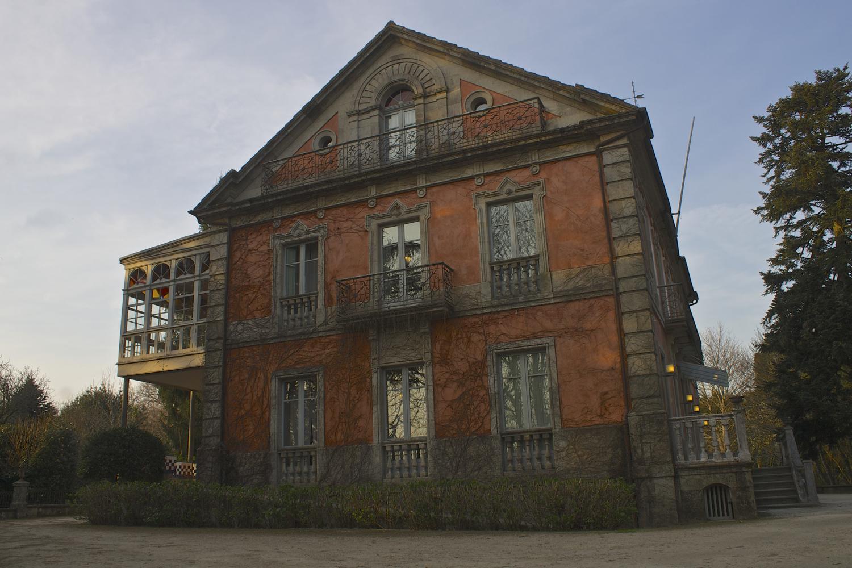 © Andrea Espiñeira La Casa Europa en su día perteneció, junto a todo el terreno que la rodea, a una familia de banqueros de Santiago.