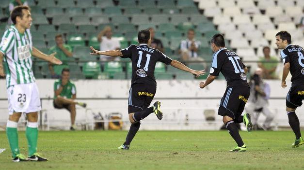 O Celta venceu no Villamarín por 1-2 - ©Te Interesa