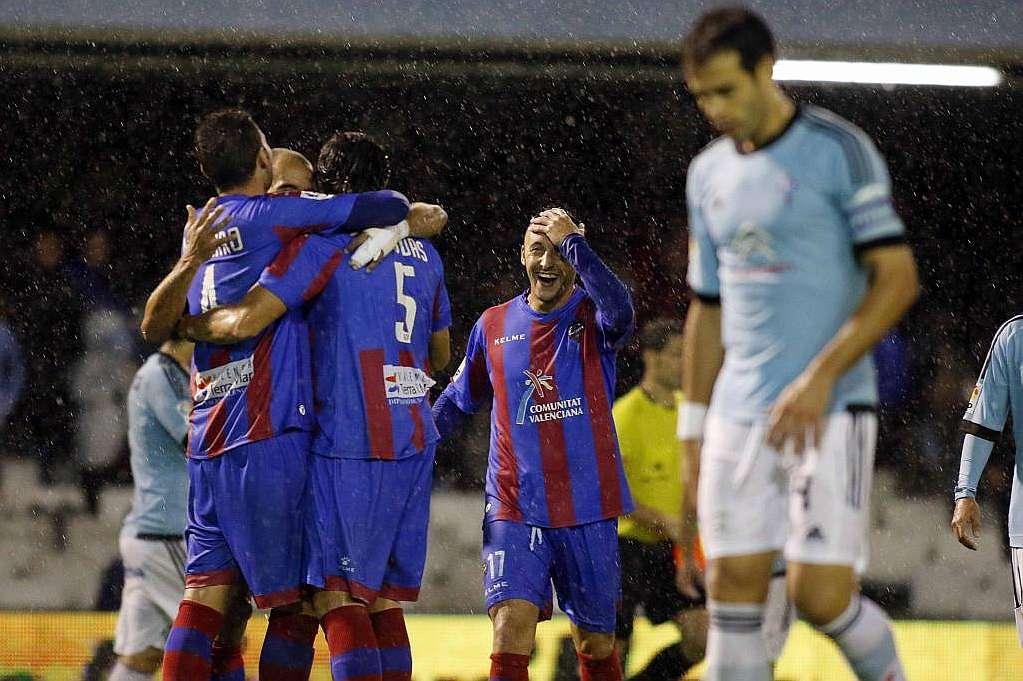 Un solitario gol de Diop fixo que o Levante conseguise tres puntos en Vigo - ©Marca