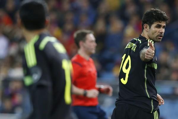 Diego Costa con la camiseta de la selección (foto: Cadena Ser)