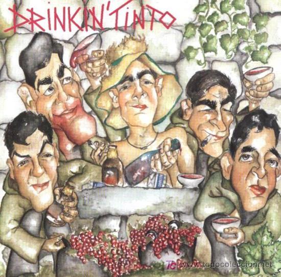 Colleita Propia, primeiro disco dos Drinkin'Tinto | Portada do disco