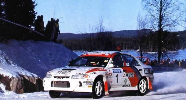 Mäkinen en el Rally de Suecia de 1998 | Vía wrc.com