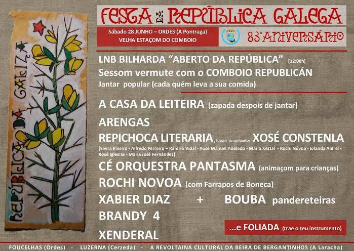 13 Festa da república galega