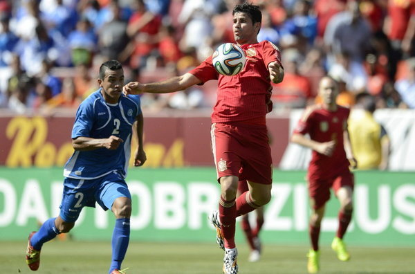 España afronta la cita como Campeona del Mundo. Del Bosque apuesta por los de siempre y Diego Costa - ©Diario AS
