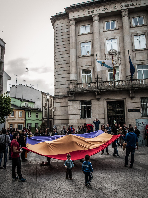 Manifestación en Lugo (03/06/14)