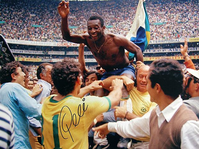 Brasil ganaría el Mundial por tercera vez en Mexico de la mano de Pelé. Desde entonces, el Rimet era suyo - ©RTVE