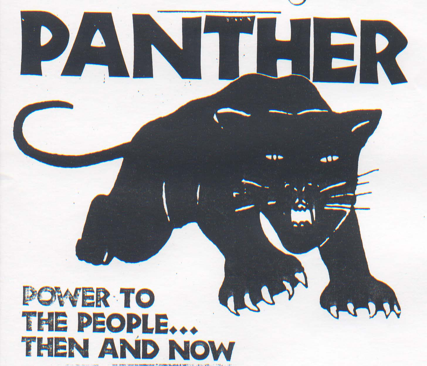 """""""O poder para o pobo"""", o lema dos panteiras negras(fotografía: innermichael.com)"""