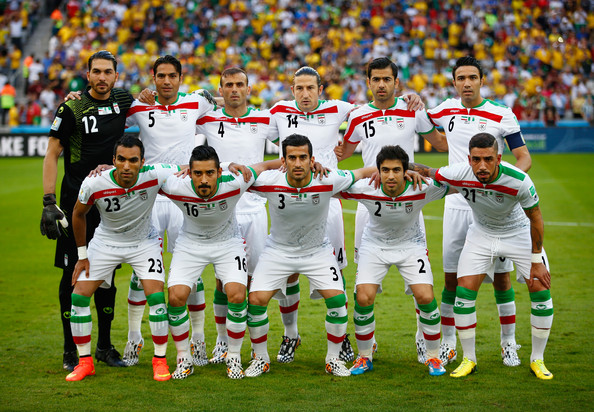 El bloque iraní, uno de los más conservadores del campeonato (Foto: Clive Rose / Getty Images).