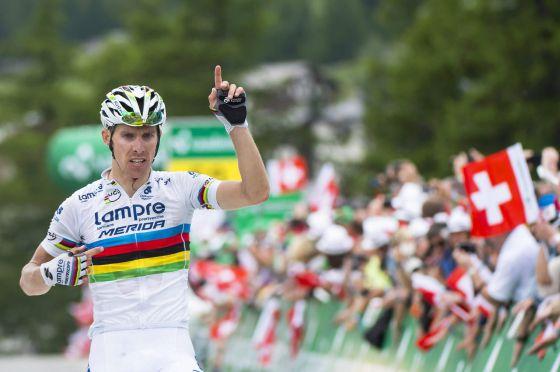 Rui Costa, el campeón del mundo, puede ser una de las grandes tapados de este Tour - ©El País