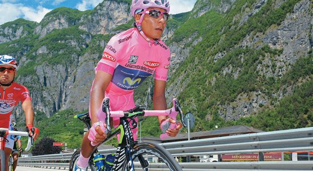 Nairo Quitana llega a la salida de Jerez con el cartel de máximo favorito - @Plaza Deportiva