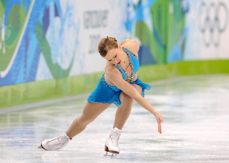 Bronze medallist, Canadia's Joannie Roch