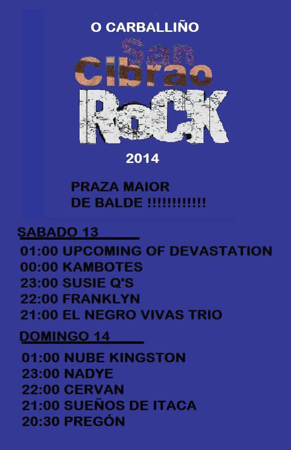 13 San Cibrao rock