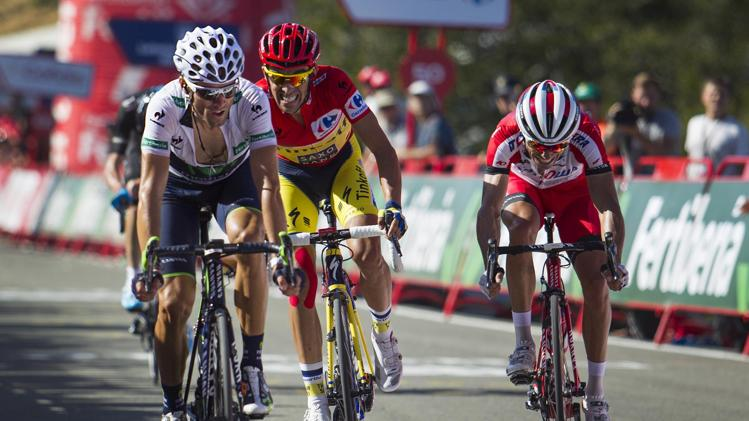 Alberto Contador, Purito Rodríguez y Alejandro Valverde; los protagonistas españoles de esta Vuelta - Eurosport