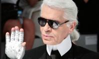 La mano mágica de Karl Lagerfeld