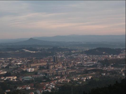 Santiago de Compostela, vista desde el monte Pedroso | Aarón Cabado