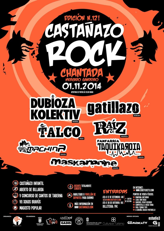 Castañazo Rock 2014