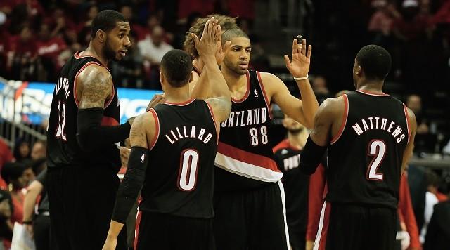 El quinteto de los Blazers es uno de los más fuertes de la NBA (Foto: Oregon Sports News).