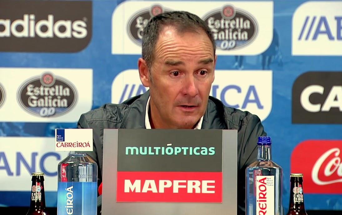 Víctor Fernández, cuestionado desde el primer día. Sacada de www.moiceleste.com