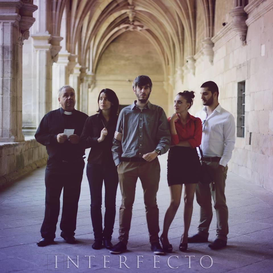 O equipo artístico de Interfecto