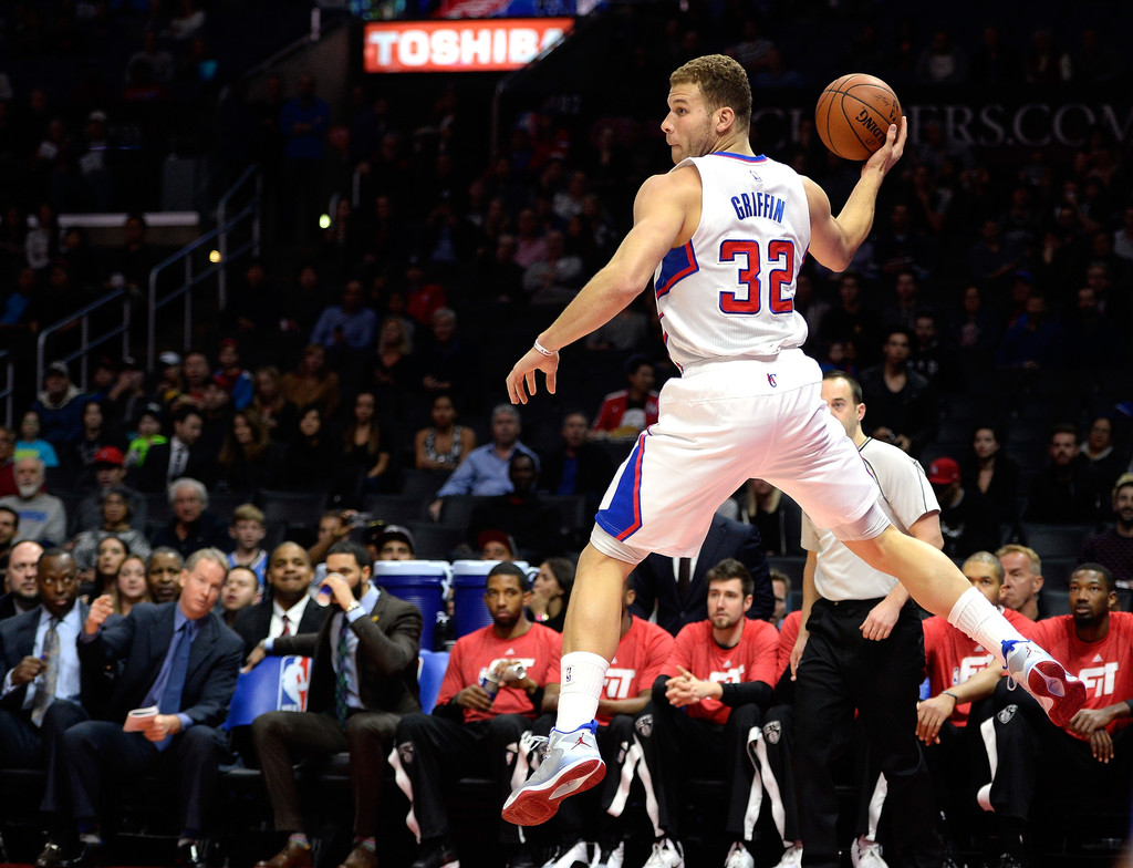 Blake Griffin acaba de volver de una lesión dispuesto a reventar la postemporada | Fuente: Harry How, Getty Images