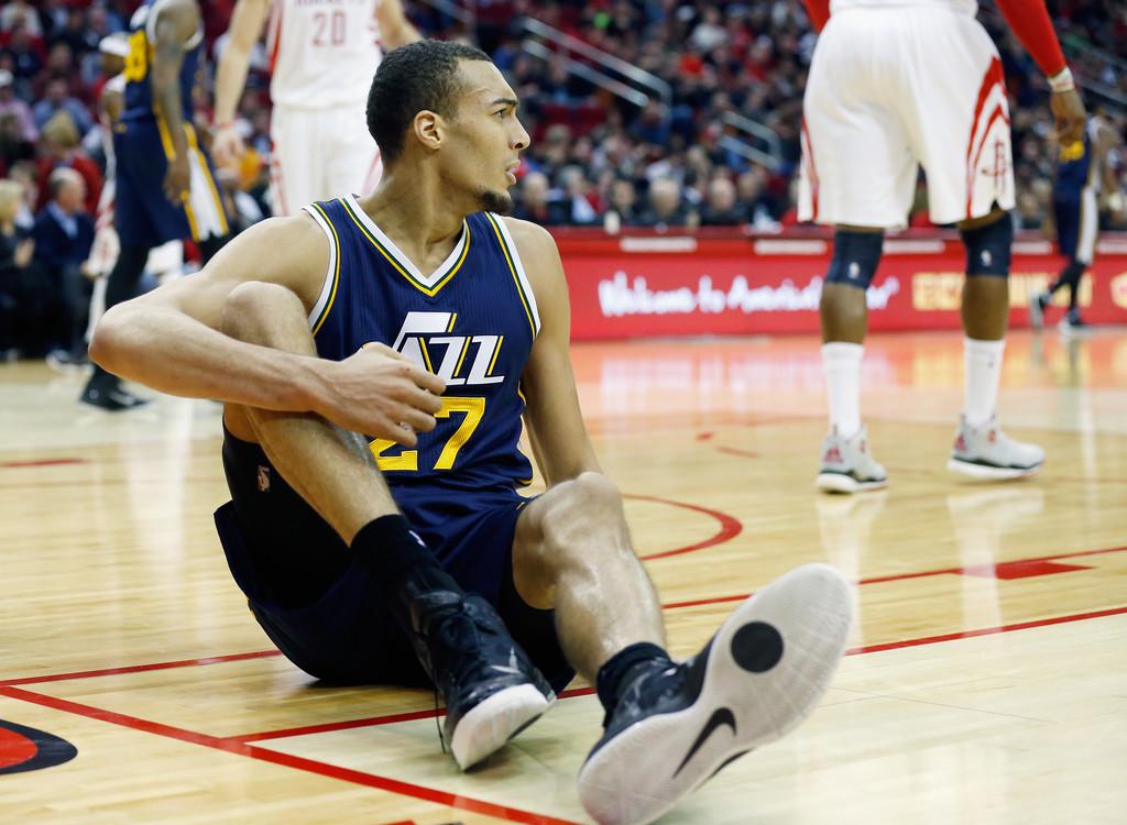 Rudy Gobert ha sido la revelación de los Jazz esta temporada | Fuente: Scott Halleran, Getty Images