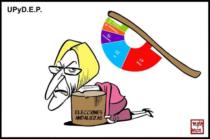 Malagón reflexiona sobre las Elecciones Andaluzas y lo bien que le han sentado a Rosa Díez  | Fuente: Malagón (para CTXT)