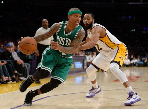 La llegada de Thomas ha aportado electricidad al juego de los Celtics. | Fuente: Harry How, Getty Images.